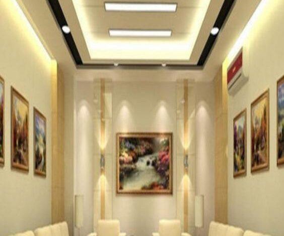 حوائط جبس بورد لتقسيم الغرف في منازل الرياض