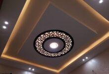 تصميمات جبس بورد أسقف مودرن للمنازل الفخمة